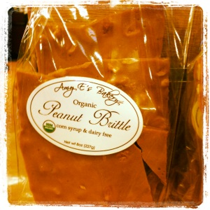 Amy E's Peanut Brittle