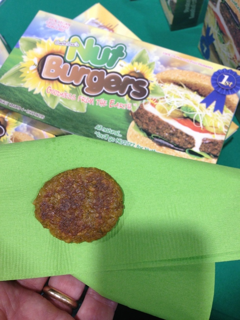 I think this was a sample size because the box says each patty contains 290 calories and this looks like 288 tops.