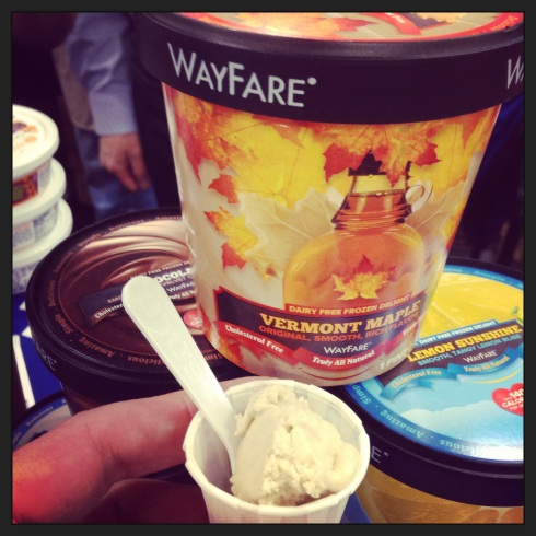 Oh, it's just some delicious oat-based Vermont maple ice cream from Montana.