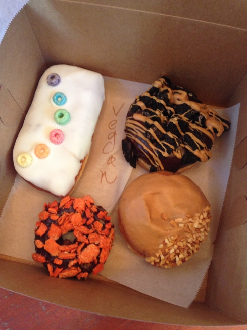 Voodoo Doughnuts. If looks could taste good...